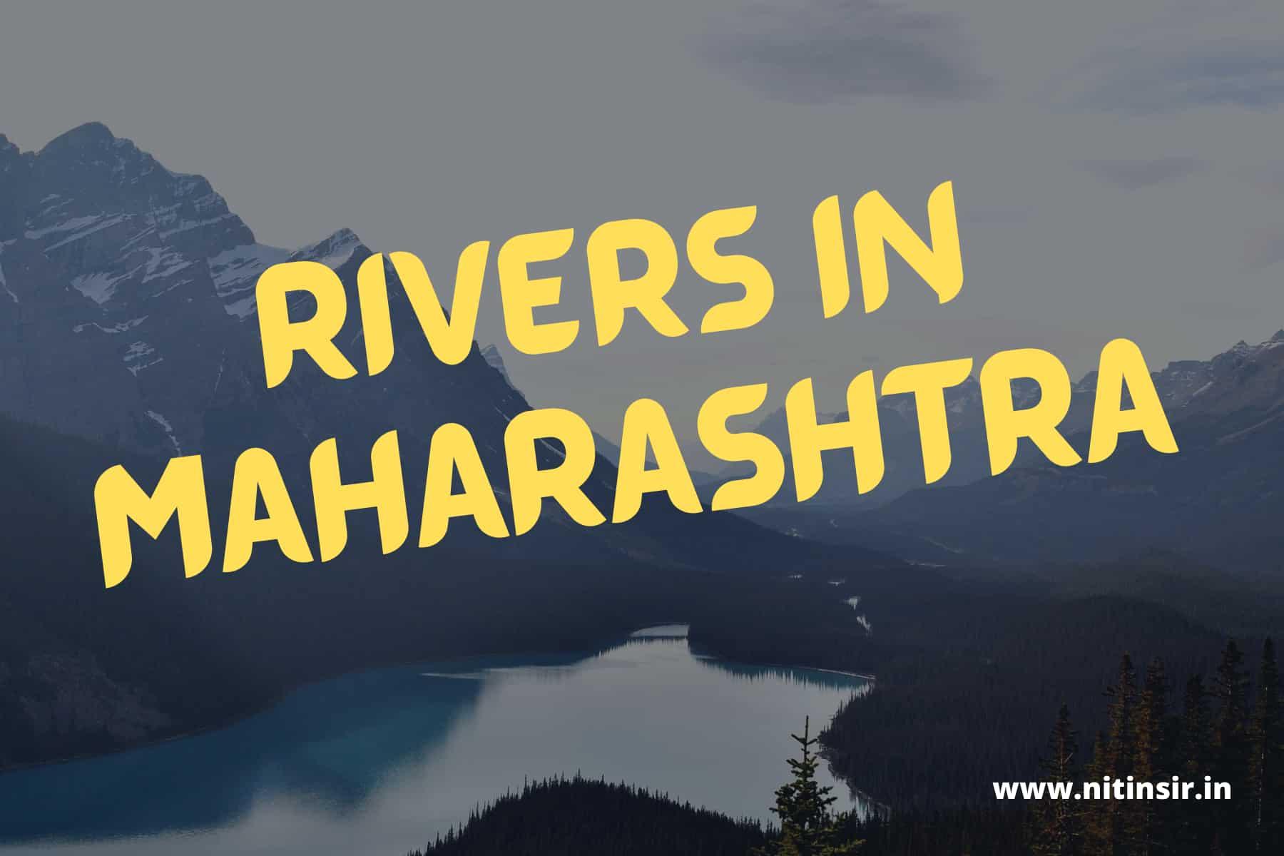 rivers in maharashtra